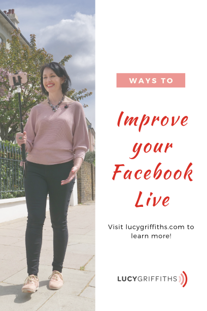 How to improve Facebook and feel confident on camera libe