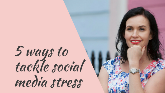 5 ways to tackle social media stress