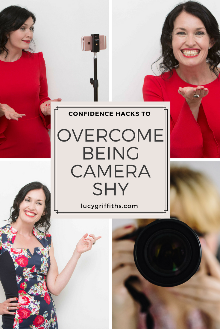 Camera Shyness How to get confident and comfortable on camera