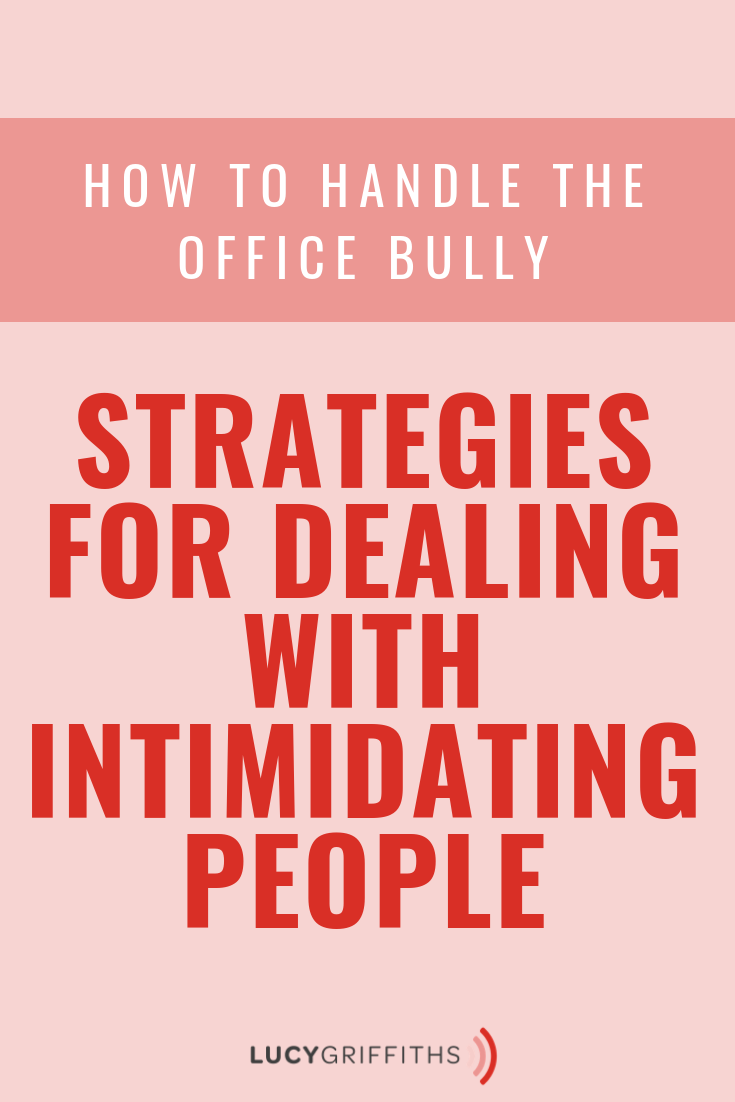 How to handle the workplace bullying