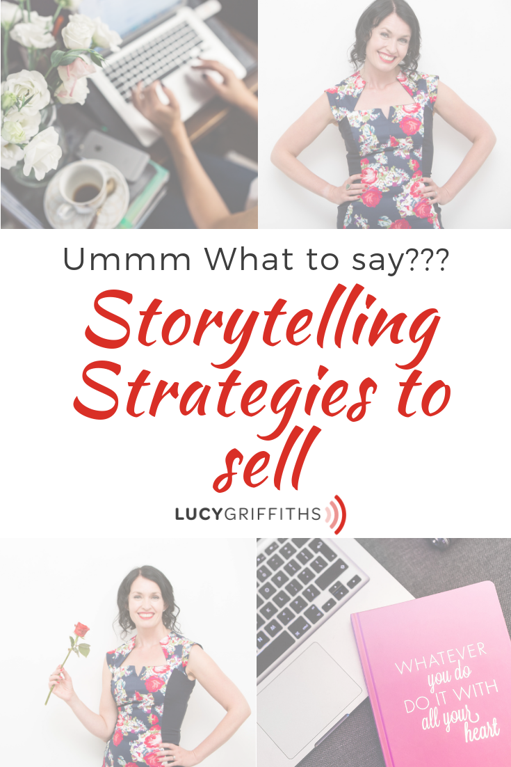 What to sell? Storytelling strategies