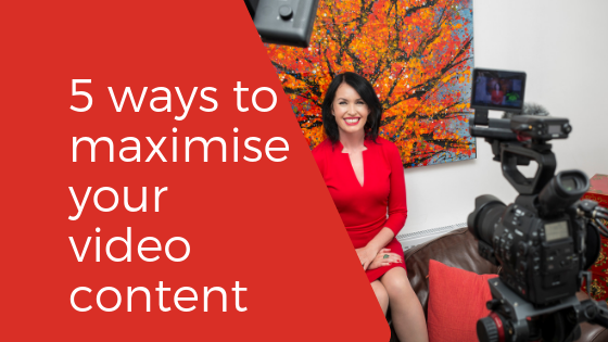 5 ways to maximise your video content - featured image
