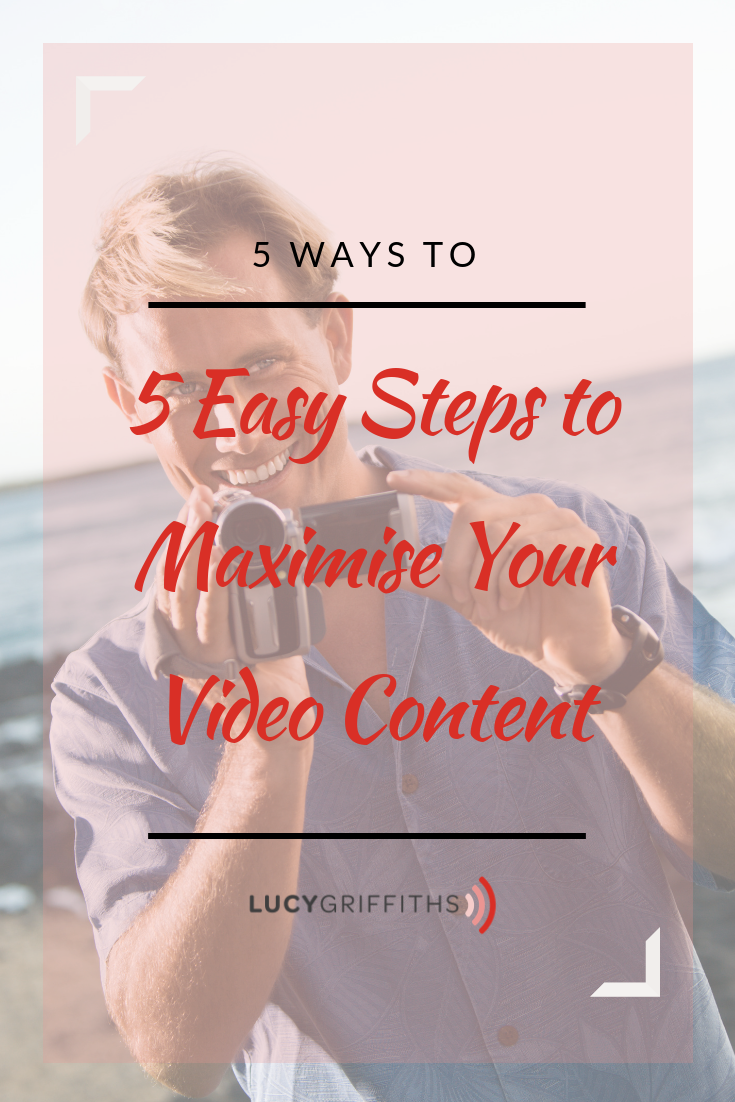 5 ways to maximise your video content v2