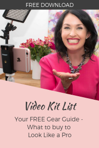 Get my FREE video kit list