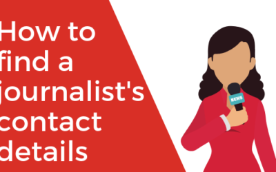 How to Find a Journalist's Contact Details (Video)