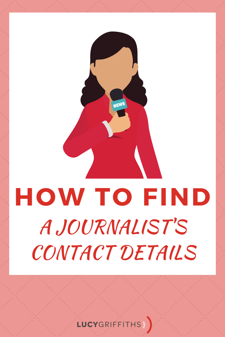 How to Find a Journalist's Contact Details