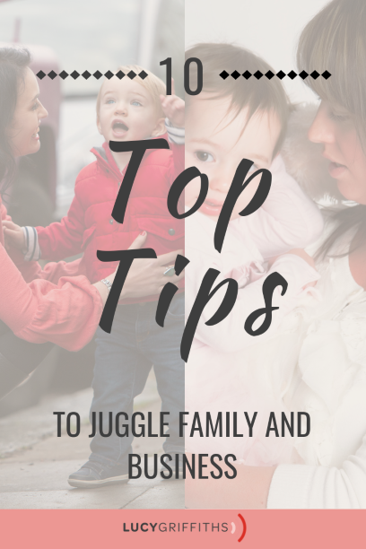 How I Juggle Family Life and TWO Thriving Businesses