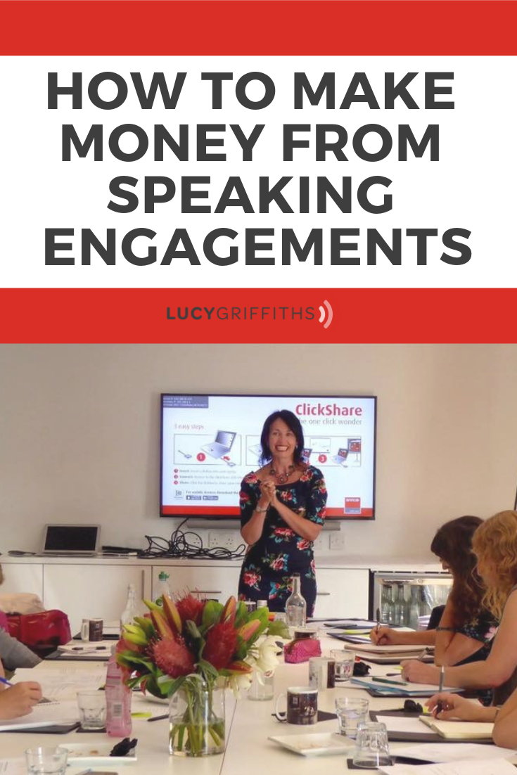 How to Make Money from Speaking Events and Workshops
