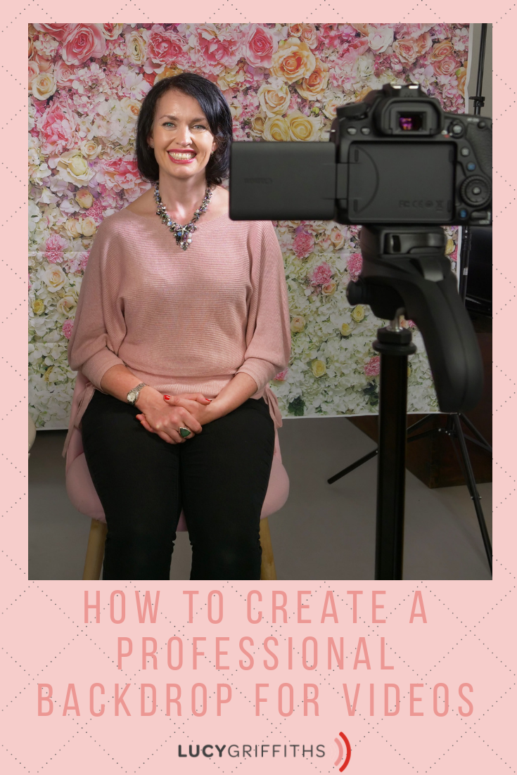 How to Create a Professional Backdrop for Filming Great Videos