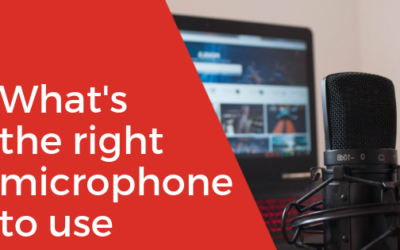 [Video] What's the Right Microphone to Use?