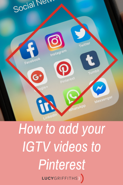 How to add an IGTV video to Pinterest