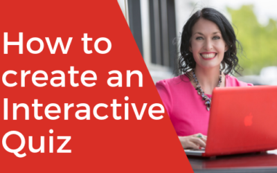 [VIDEO] How to Create an Interactive Quiz
