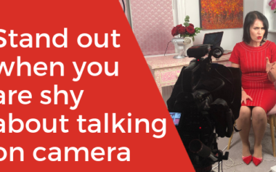 [BLOG] How can you stand out when you're shy about talking on camera?