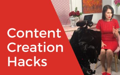[Video] Content Creation Hacks