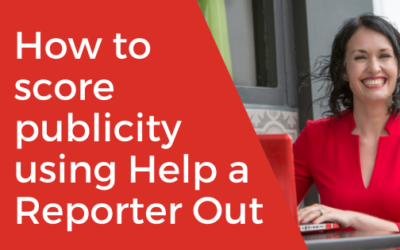 [VIDEO] How to score publicity using Help a Reporter Out