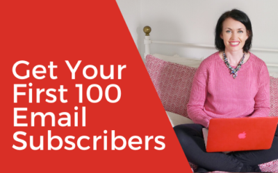 [Video] How to Get Your First 100 Email Subscribers
