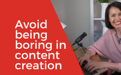 [Video] Is your content boring? Tips on how to avoid being boring in content creation