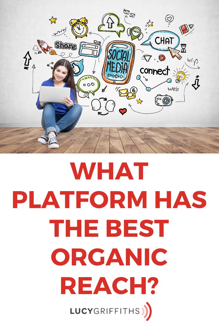 What platform has the Best Organic Reach (Grow Fast!)