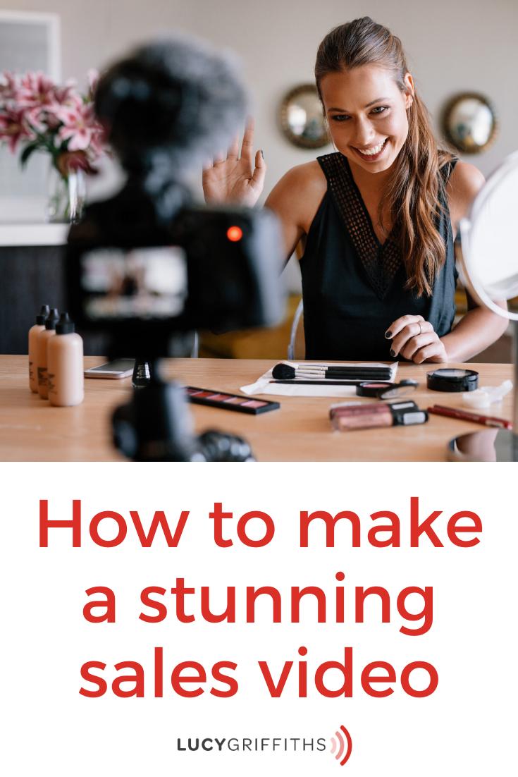 make a sales video