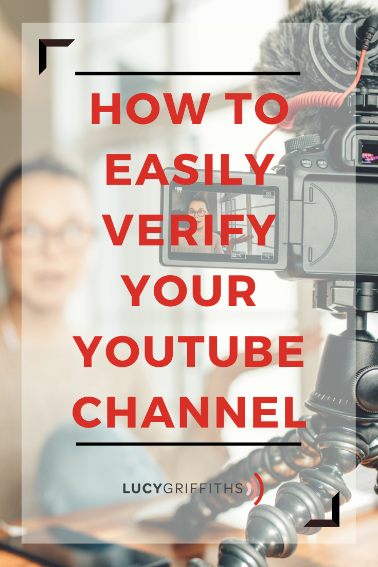 Verify your Youtube Channel