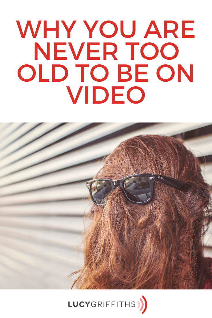 never too old to be on video