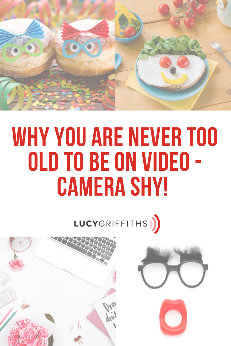 You are never too old to be on video!