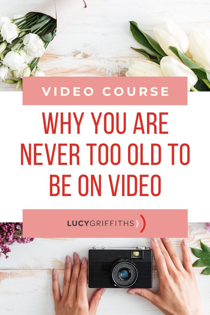You are never too old to be on video