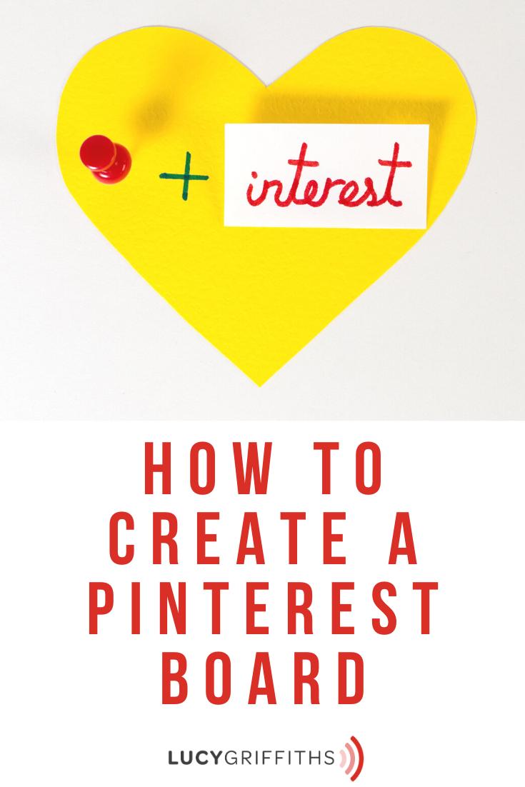 Create A Pinterest Board