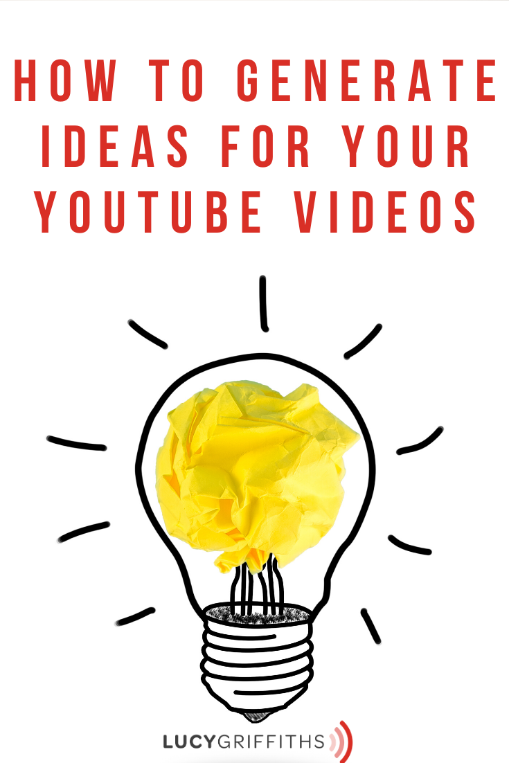 generate ideas for Youtube videos