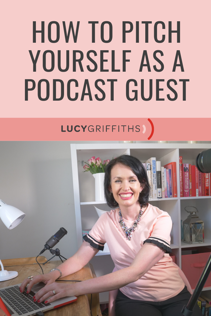 pitch yourself for a podcast