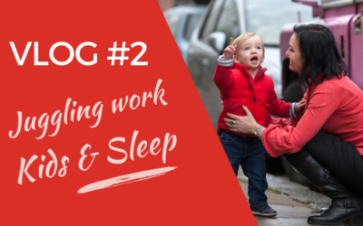 [Video] Lucy Griffiths Vlog#2 – Parenting, Confidence, And Sleep