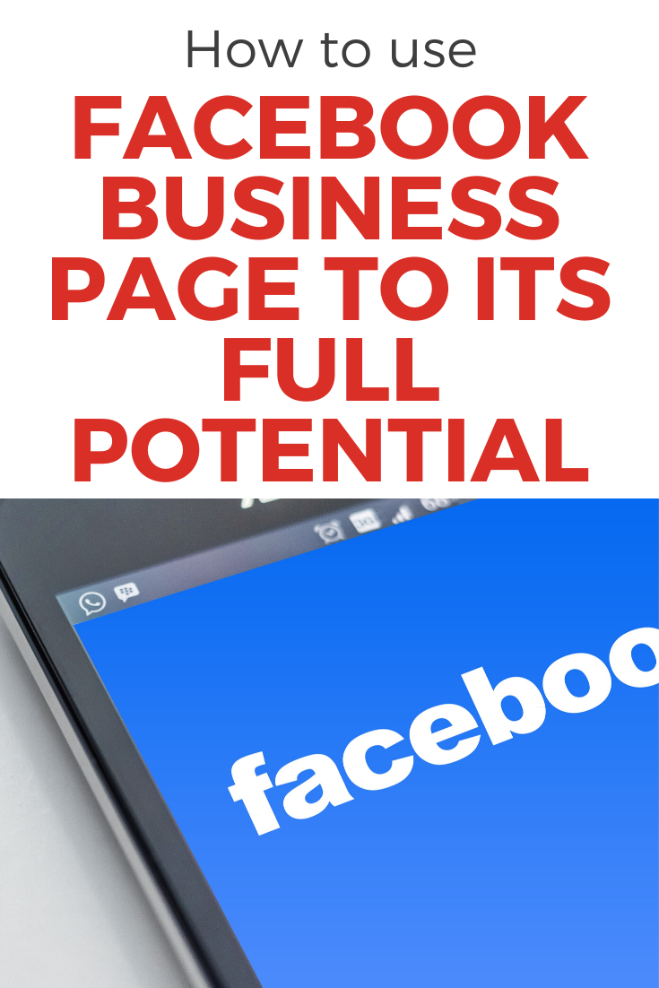 Maximize Facebook Business Page