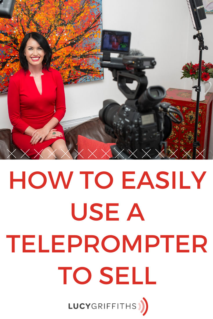 use a teleprompter