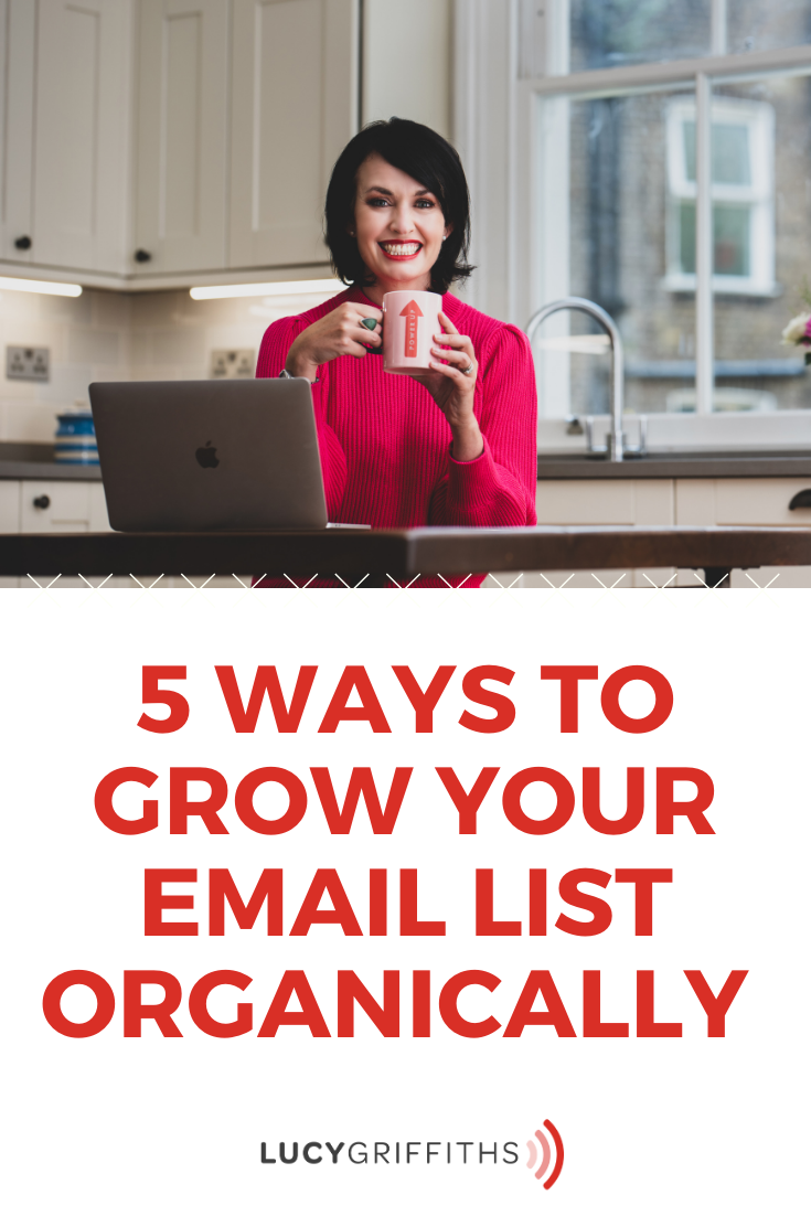 5 Ways to Grow Your Email List Organically to Grow Your Business