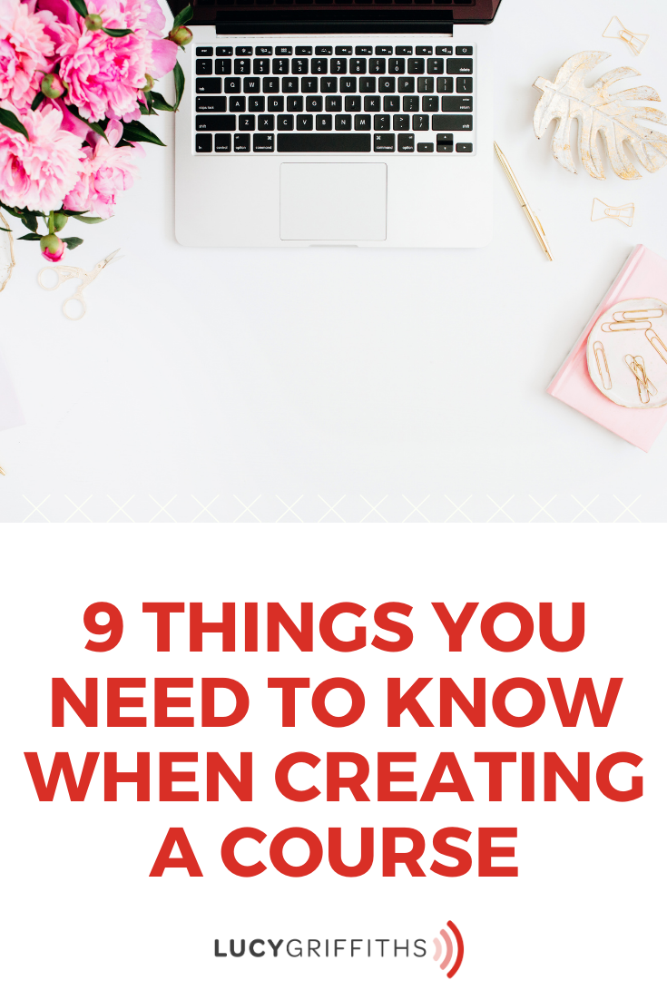 9 Things You Need to Know When Creating a Course