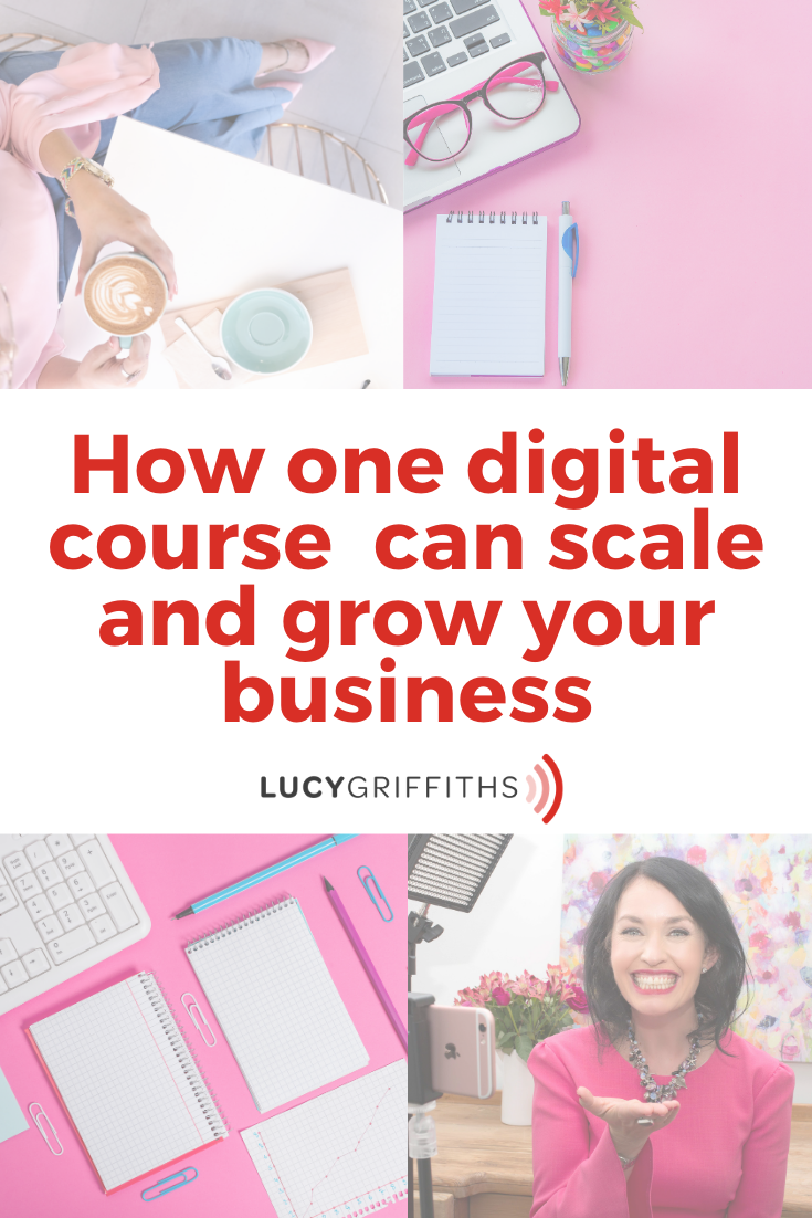It only takes one digital course to scale and grow your business