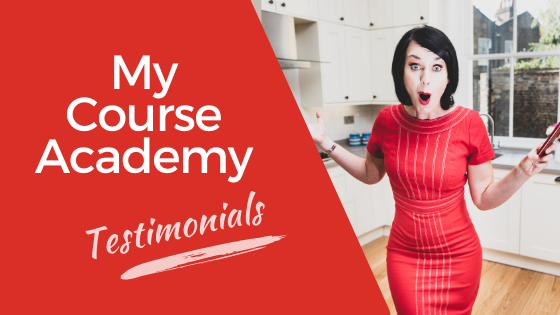 My Course Academy testimonials - What clients say about My Course Academy