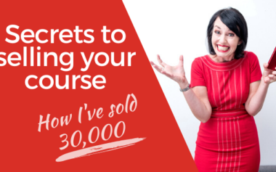 [Video] Secrets to selling your course – How I've sold 30,000