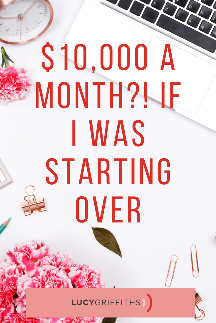 How I would make $ 10000 per month if I had to start over right now - Online Business Startup Tips