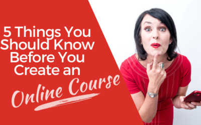 [VIDEO] 5 Things You Should Know Before You Create an Online Course