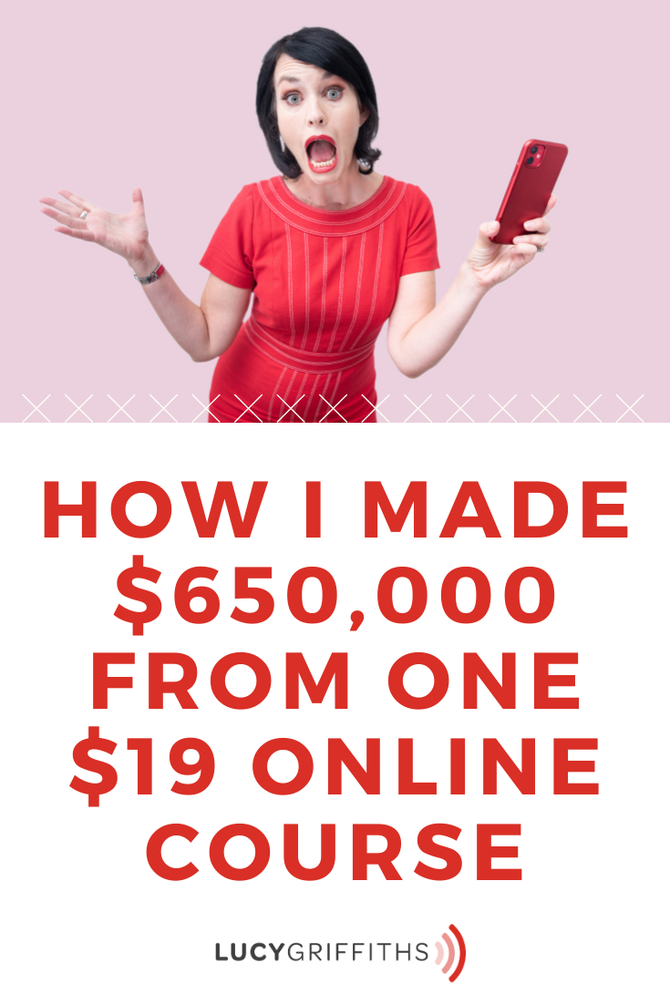 How I Made $650,000 from ONE $19 Online Course - How to Create an Online Course that Sells