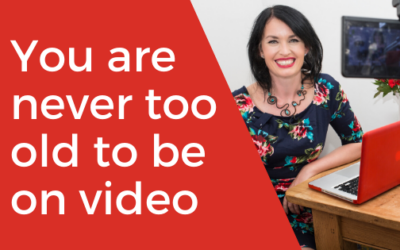 [VIDEO] It's never too late! You are never too old to be on video!