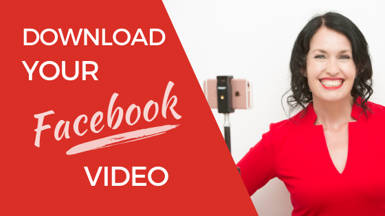 download your Facebook video