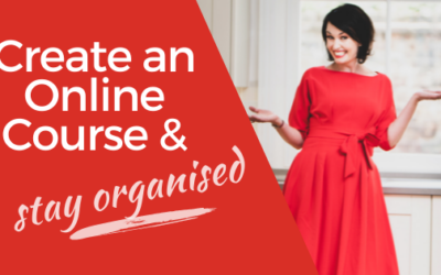 [VIDEO] How to Create an Online Course – and Stay Organised