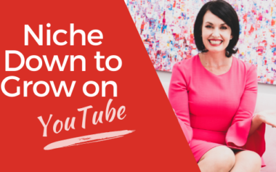 [VIDEO] Niche Down to Grow on YouTube and in Business – How to Dominate Your Niche on YouTube