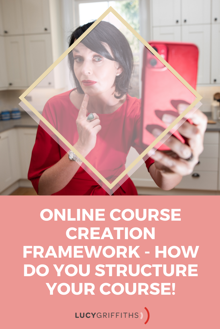 Online Course Creation Framework - How do you structure your course!