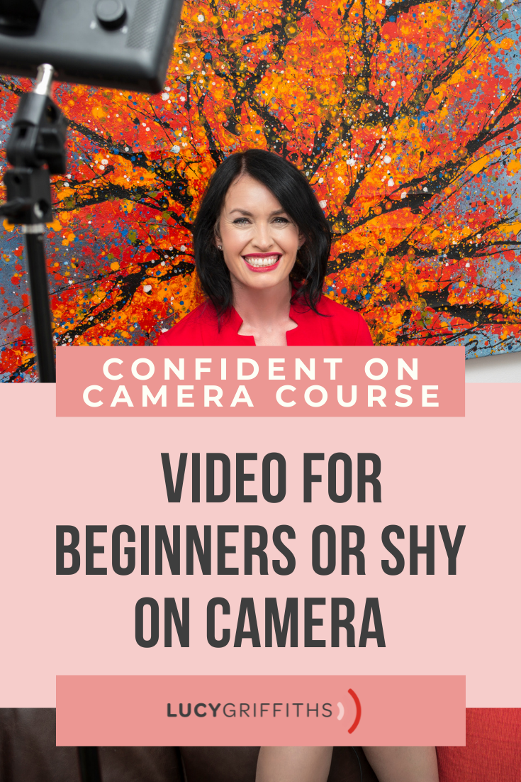 Behind the Scenes - Lucy Griffiths Confident on Camera Course - Video for Beginners or Shy on Camera