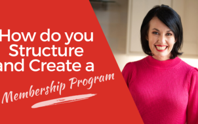 [VIDEO] How Do You Structure and Create a Membership Program with only a Small business?