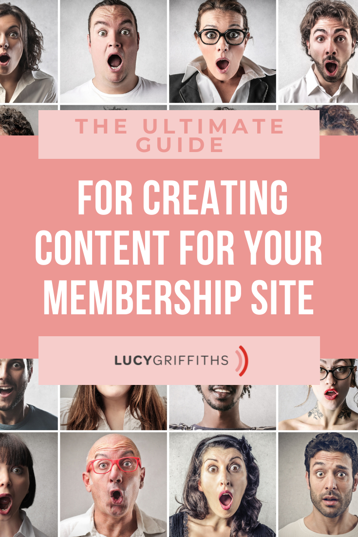 The Ultimate Guide for Creating Content for Your Membership Site when you're a small business owner