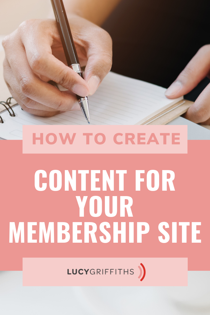 How To Create Content For Your Membership Site When You're a Small Business Owner